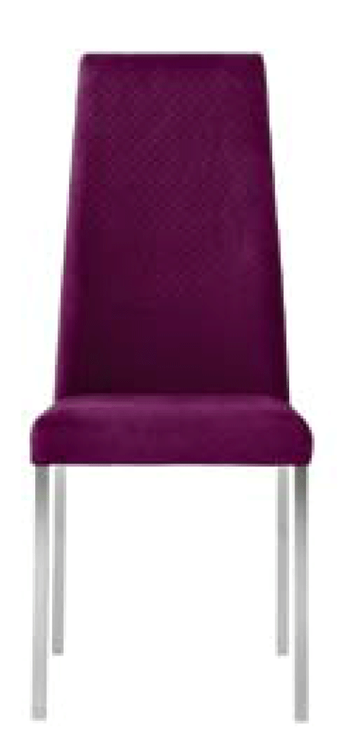 Silla tapizada patas aluminio patry - Patas de aluminio para muebles ...