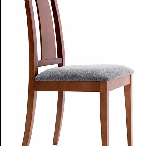 Silla comedor gallery of silla comedor blanca con patas for Sillas wengue comedor