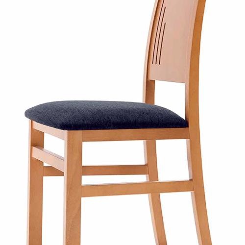 silla comedor rayas