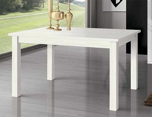 Mesa comedor rectangular extesible modelo 300 for Comedores la polar