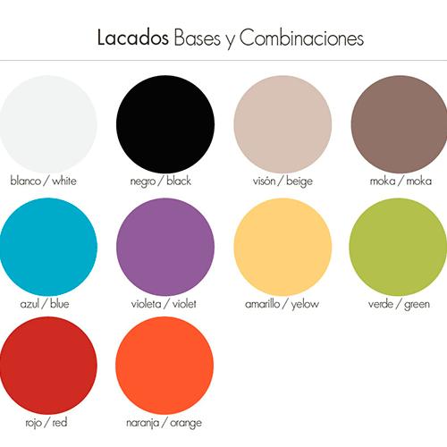 colores lacados HRDS