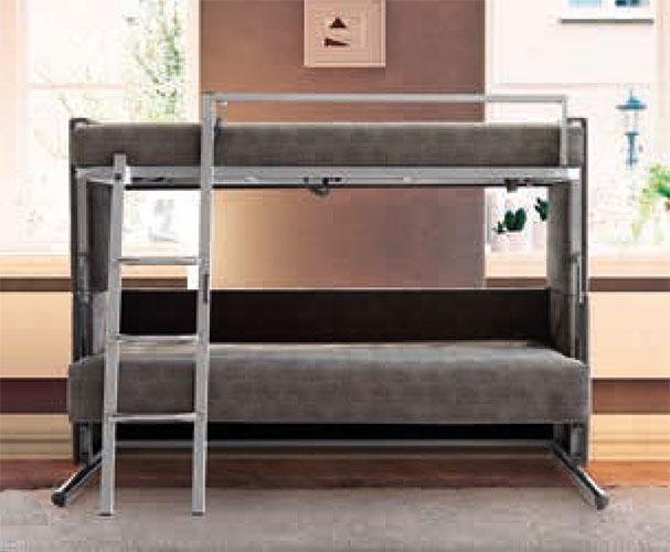 Sof cama que se convierte en litera modelo athenea for Sofa que se hace litera