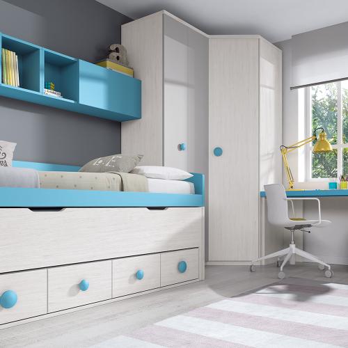 dormitorio juvenil F007